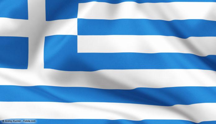 Griechenland-Flagge © Andrey Kuzmin - Fotolia.com