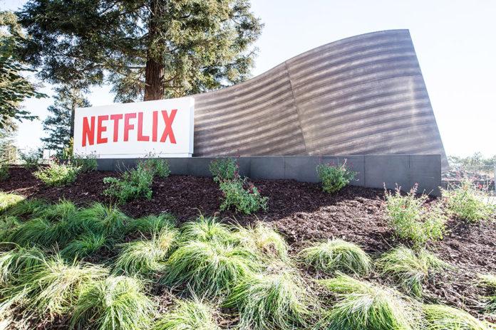 Netflix Schriftzug