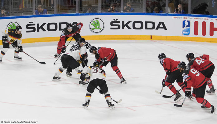 Eishockey Nationalmannschaft © Skoda Auto Deutschland GmbH