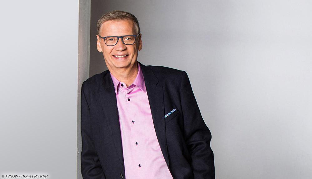 Günther Jauch lässig