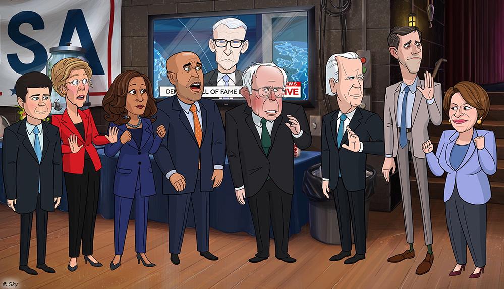 """Trump-Satire """"Our Cartoon President"""" kehrt mit zweiter Staffel zu Sky zurück"""