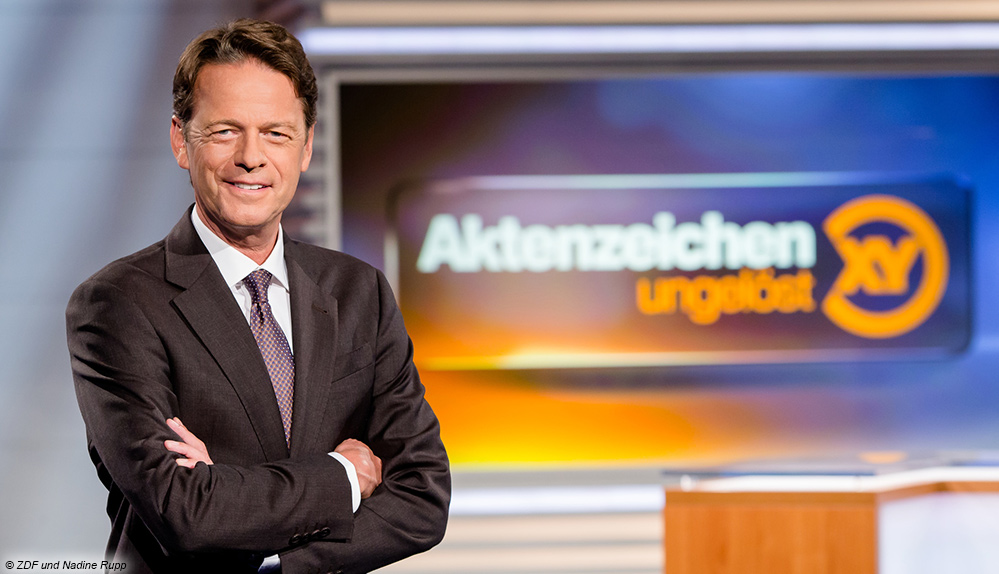 Morder Sass Bei Aktenzeichen Xy Im Studio Digital Fernsehen