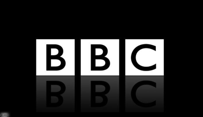 bbc logo spiegeleffekt