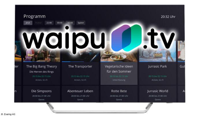 waipu.tv; © Exaring AG/Montage digitalfernsehen.de