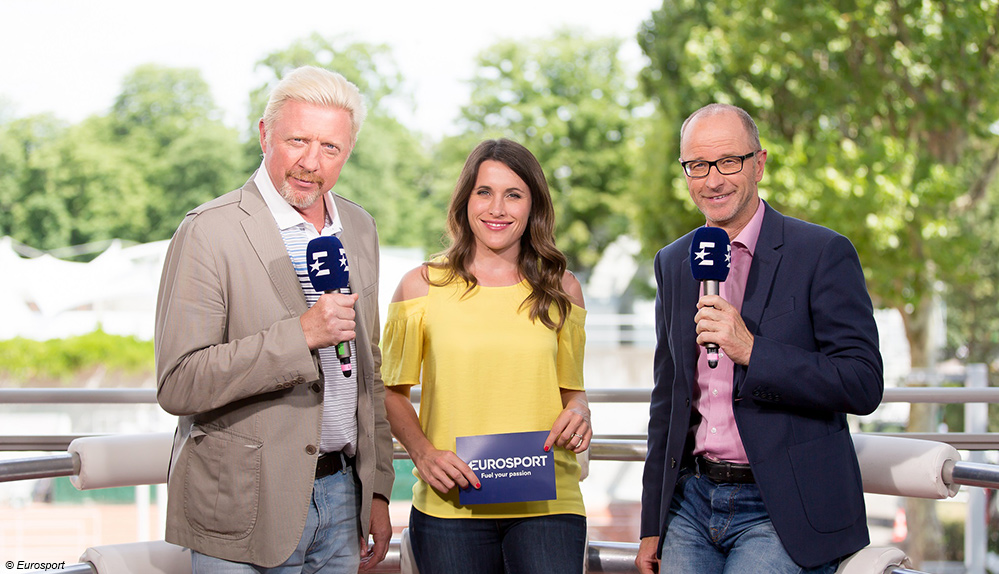 Australian Open mit Boris Becker live bei Eurosport