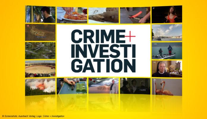 Logo Crime + Investigation