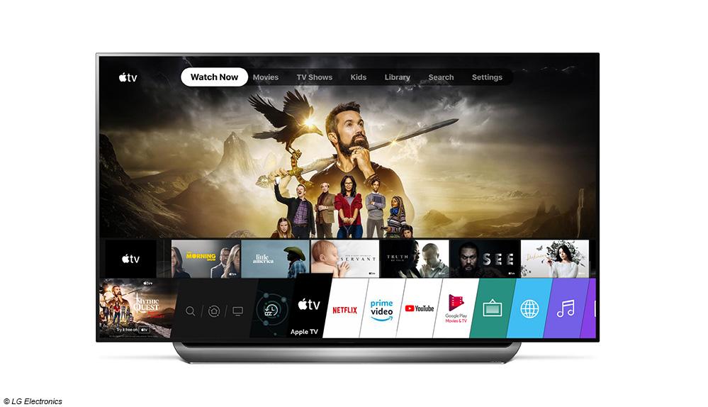 Apple TV-App jetzt auch auf 2019er Smart TVs von LG - DIGITAL FERNSEHEN