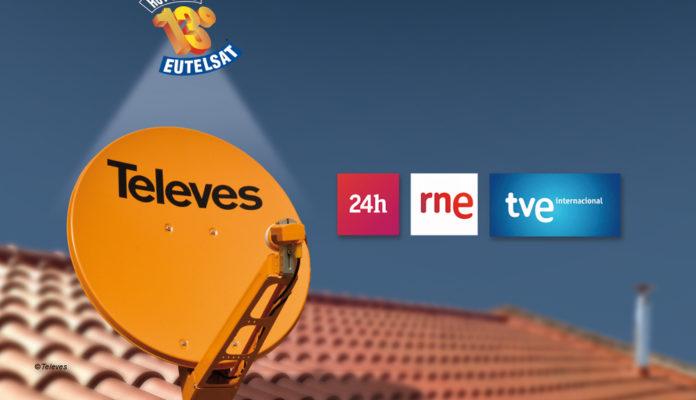 RTVE-Sender migrieren von Astra auf Hotbird