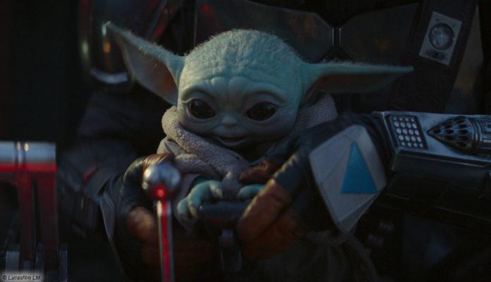 Baby Yoda - Mandalorian - Disney+