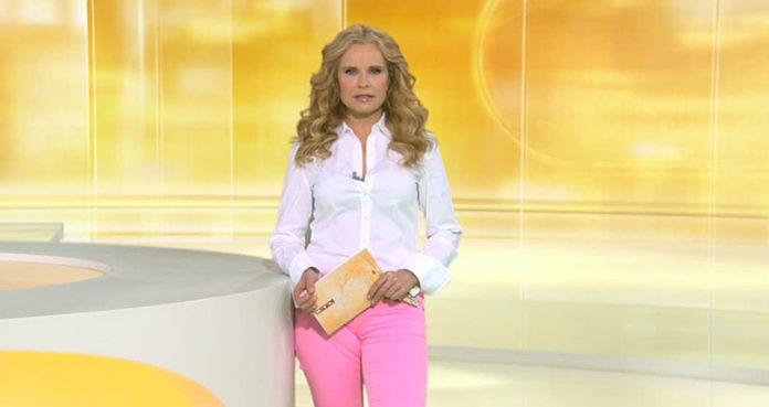 Katja Burkard bei Punkt 12 Foto: TVNOW