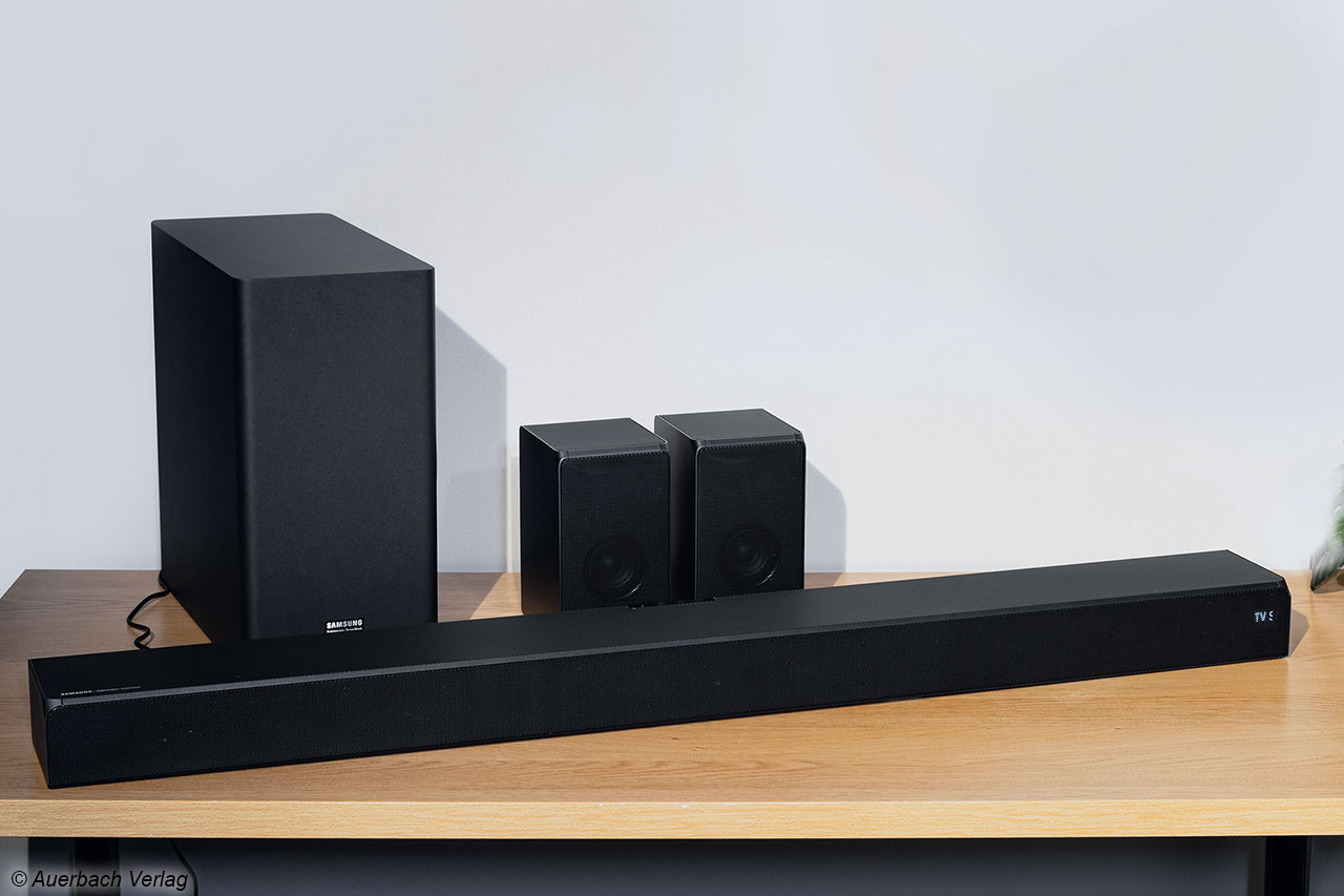 "Im Test: ""Samsung harman/kardon HW-Q5R"" - Soundbar-Flaggschiff"