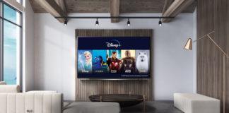 Disney+ auf einem LG Smart TV