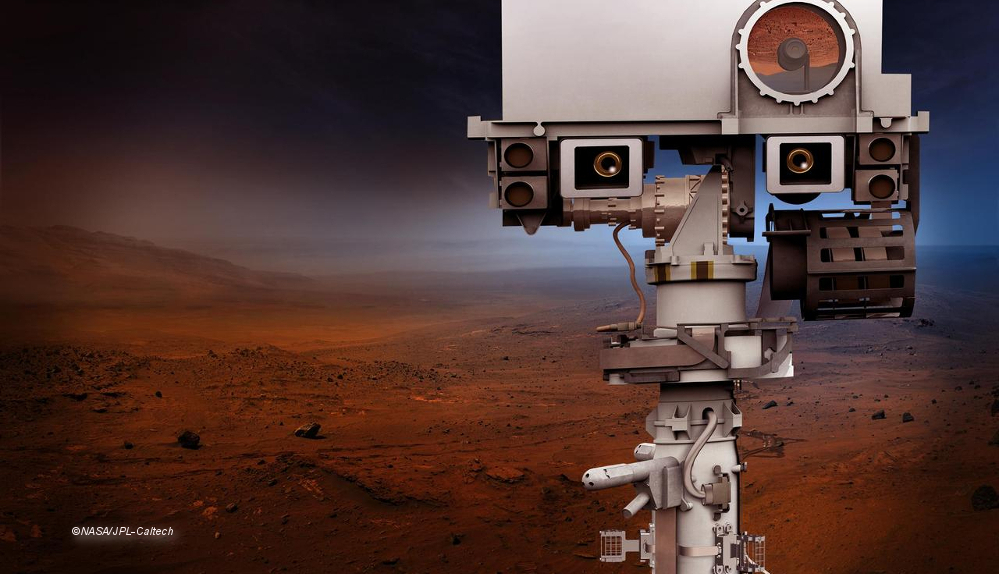 Mars Rover Designentwurf