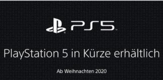 PS5 in Kürze erhältlich