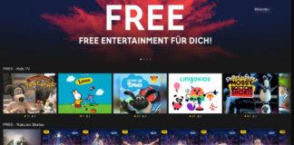 Rakuten TV Free-Angebot