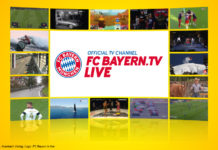 Logo: FC Bayern.tv live