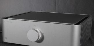 Cambridge Audio Edge A Stereovollverstärker Verstärker Integrated Amp Test Review News Front Panel Vorn Ansicht Silber Silver