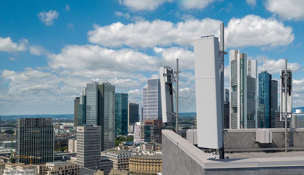 Neue 5G-Antennenlösungen von Ericsson für das Mid-Band