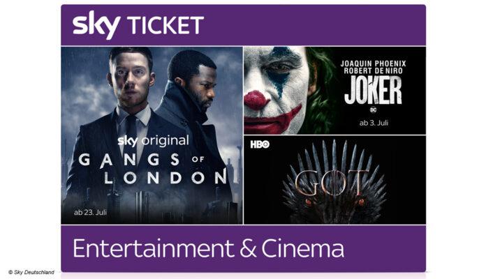 Sky baut Angebot weiter um - erstmals Filme und Serien zusammen