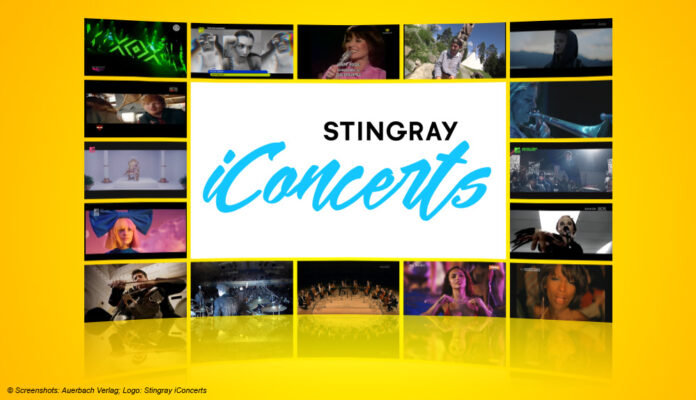 Logo: Stingray iConcerts
