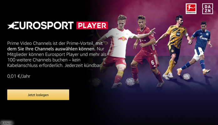 Eurosport Player bei Amazo