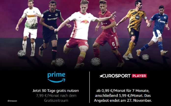 Die Bundesliga auf dem Eurosport Player Channel bei Amazon Prime Video