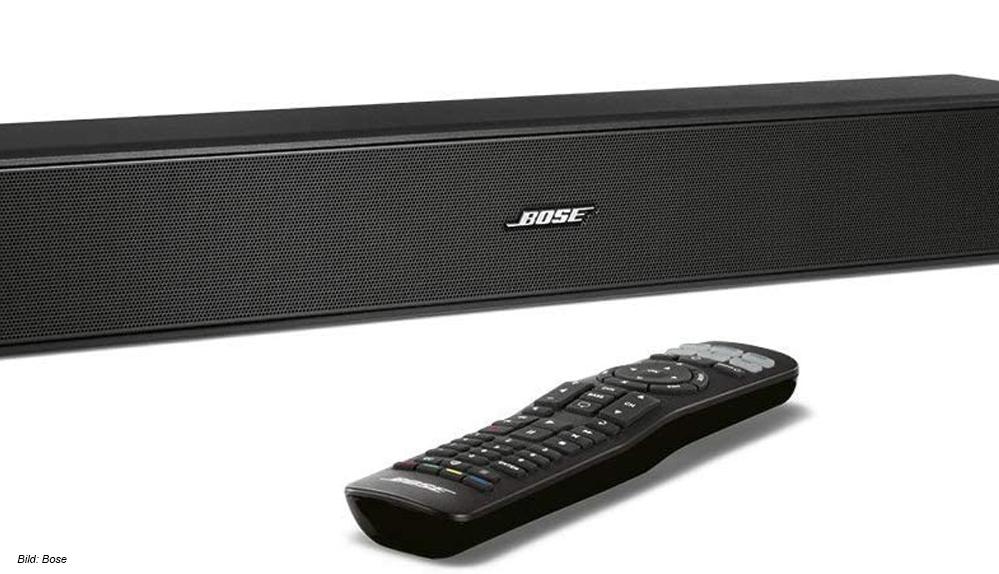 Die Soundbar Bose Solo 5 TV Sound System