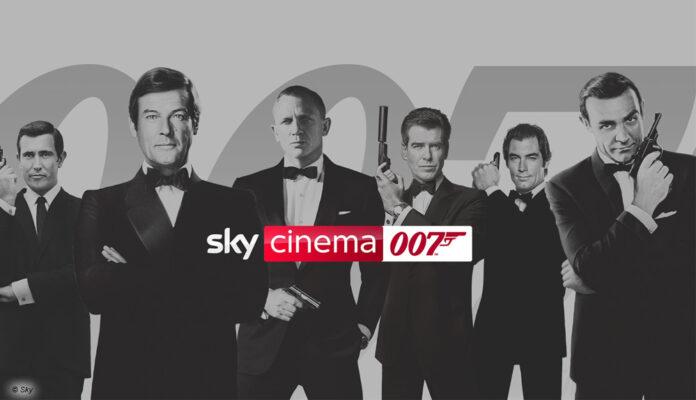 Sky Cinema 007 - alle Bond-Abenteuer gebündelt