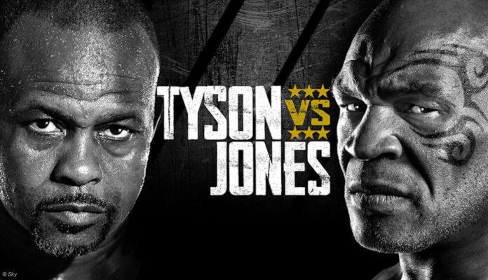 Mike Tyson gegen Roy Jones Jr.