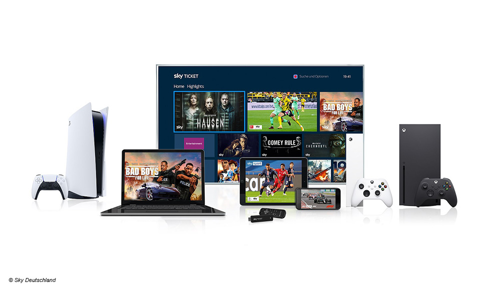 Digital Fernsehen Sky