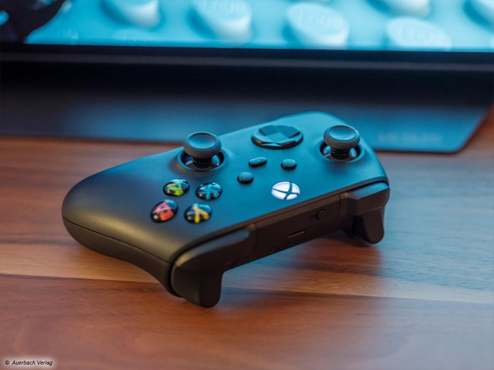 Der Controller der neuen Xbox Series X