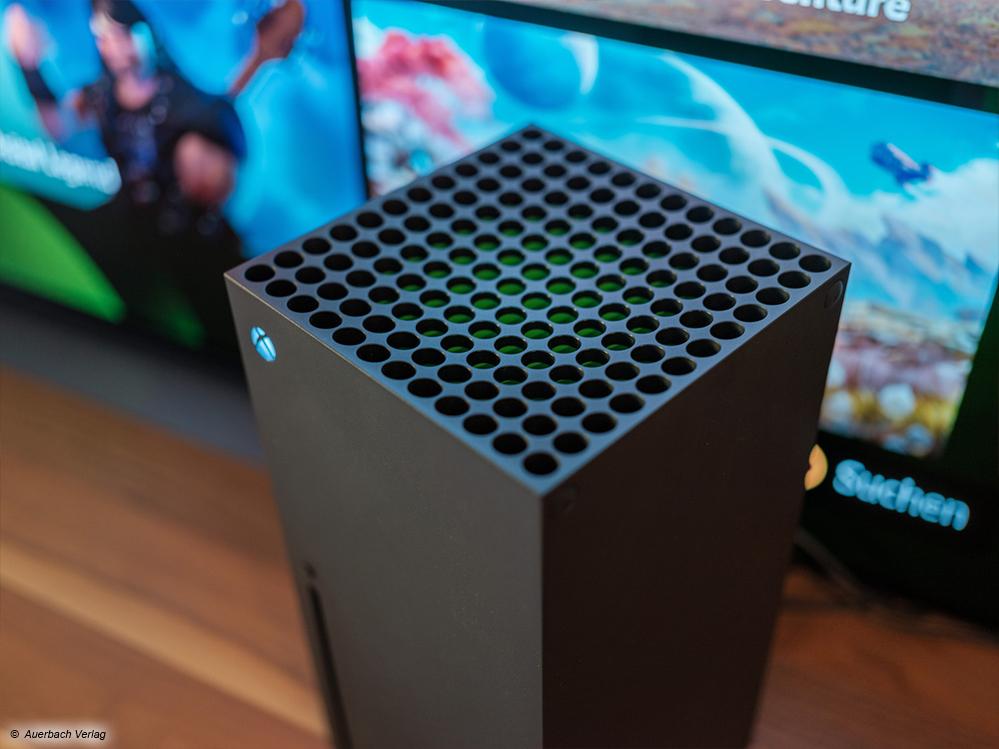 Die neue Xbox Series X aus der nähe betrachtet