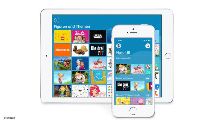 Amazon Kids+ jetzt auch für iOS verfügbar