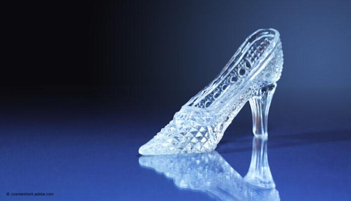Cinderellas gläserner Schuh