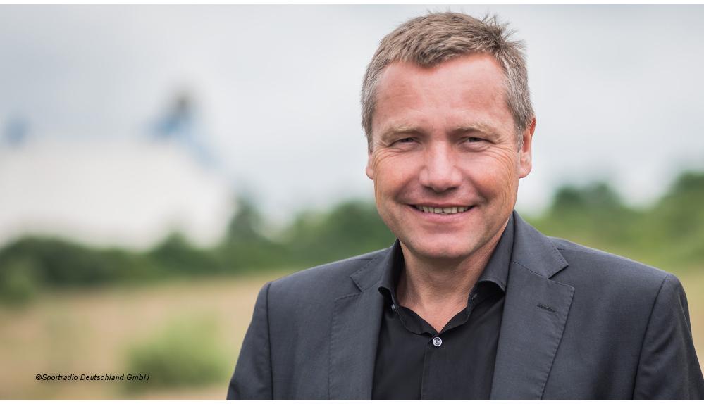 Geschäftsführer Erwin Linnenbach, ©Sportradio Deutschland GmbH