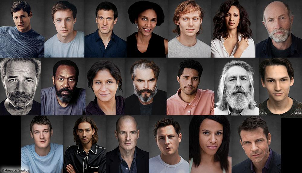 Amazon Original Serie lotr cast
