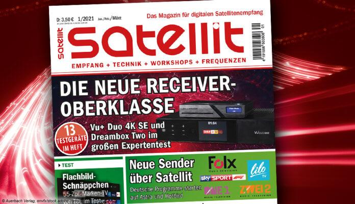 Zeitschrift Satellit 1/2021