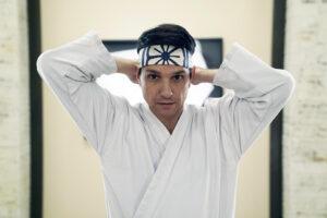 "Daniel Larusso (Ralph Macchio) in ""Cobra Kai"" bei Netflix"