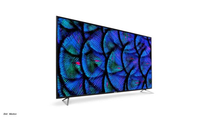 DerMedion Life X17575 UHD-TV mit HDR bei Aldi