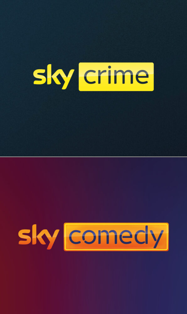 Sky Crime und Sky Comedy