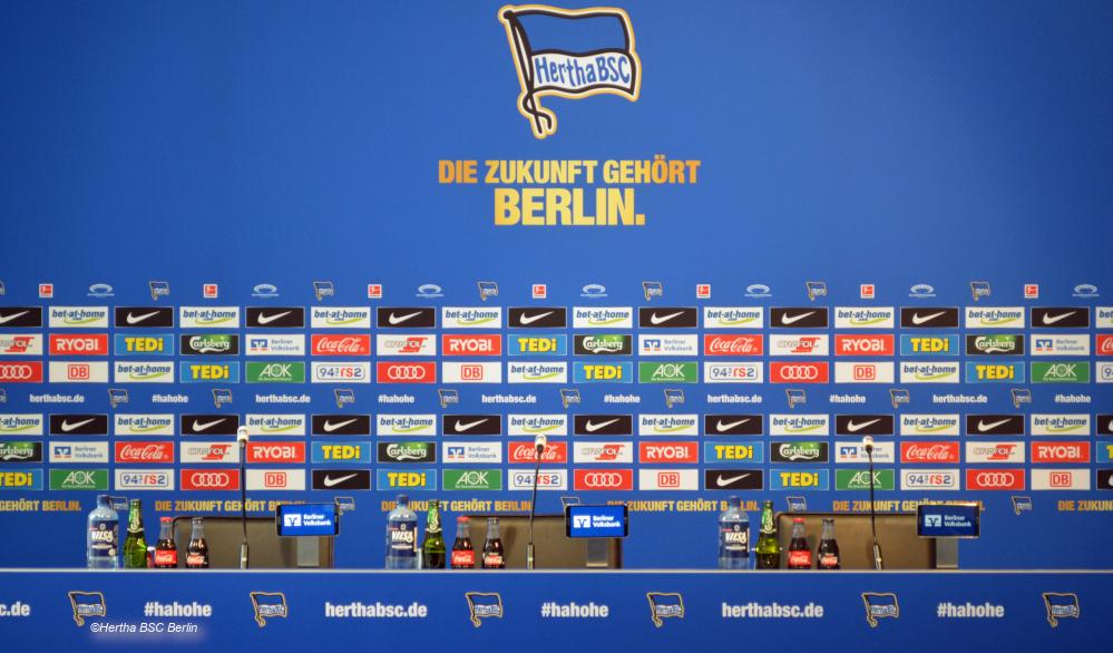 Pressekonferenz Hertha BSC Berlin