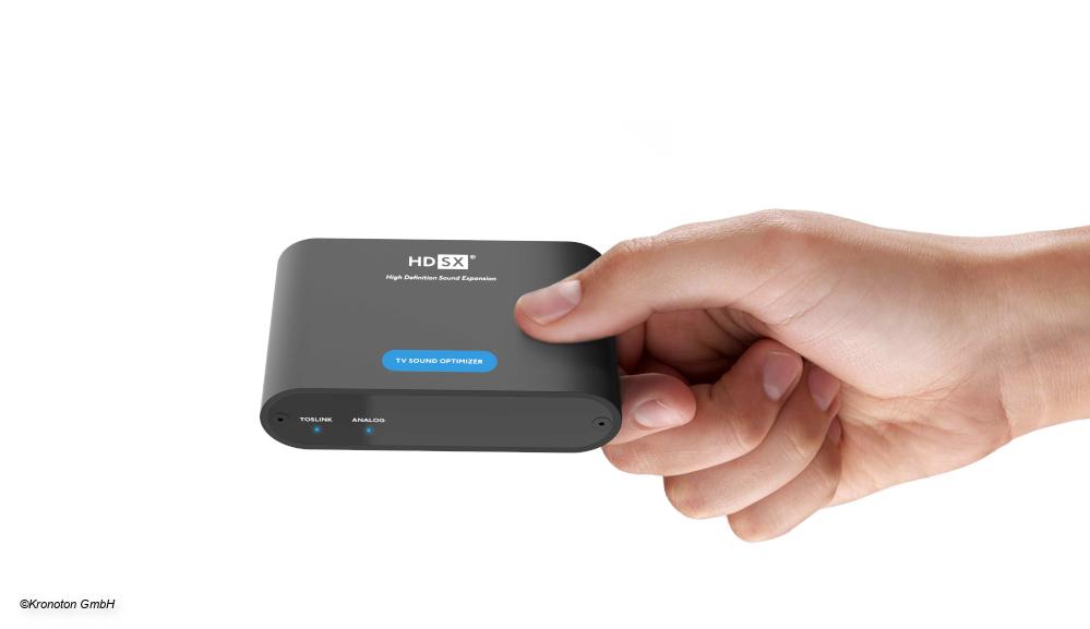 HDSX TV Sound Optimizer für ein ausbalanciertes Klangerlebnis vorgestellt DIGITAL FERNSEHEN - Digitalfernsehen.de