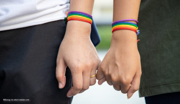 gay outing symbol