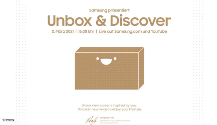 Samsung Unbox and Discover