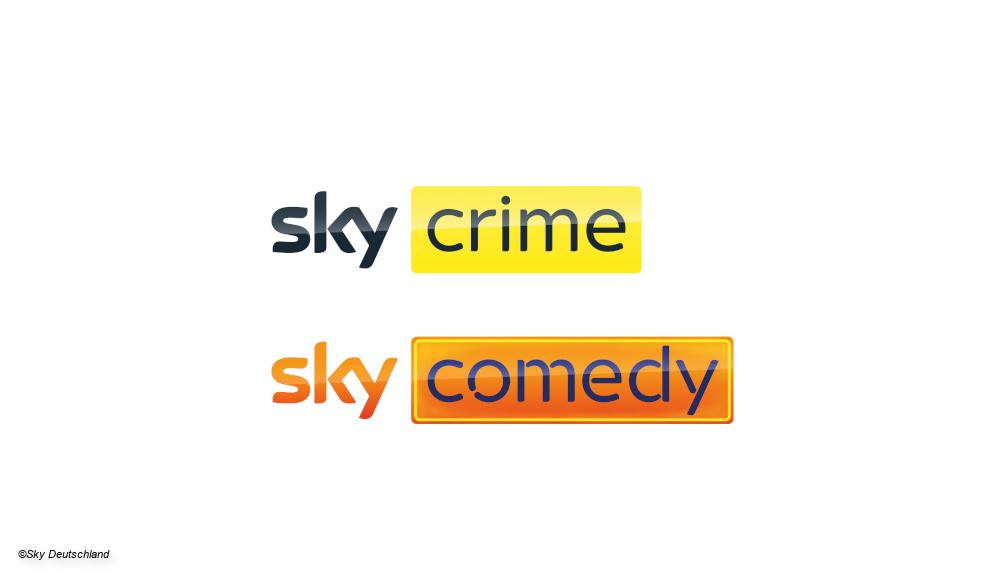 Neue Sky-Sender Sky Comedy Sky Crime