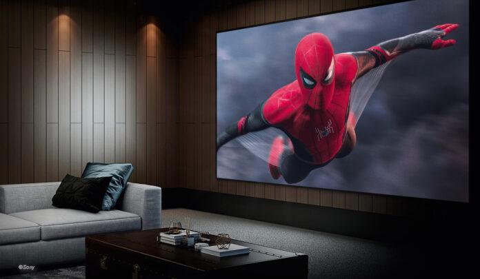 beamer-spezial spider-man heimkino