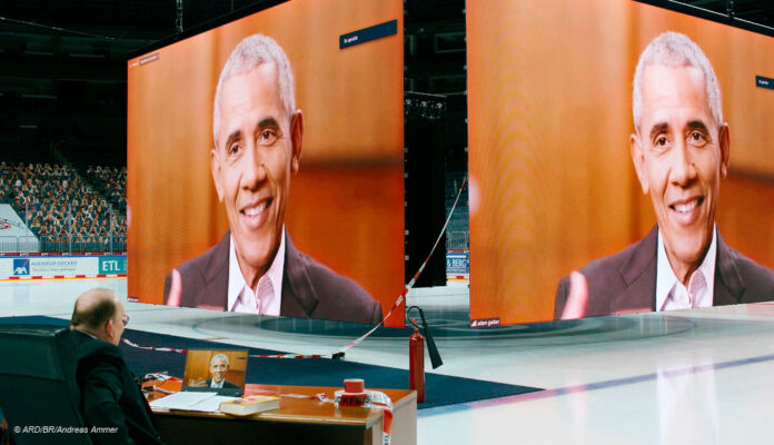 Druckfrisch Obama