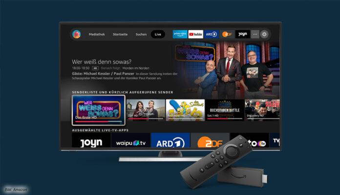 FireTV mit verbesserter Sprachsteuerung und Live-Tab für Netflix, Prime, Joyn und diverse Mediatheken