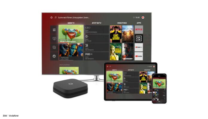 Die GigaTV Cable Box 2 von Vodafone