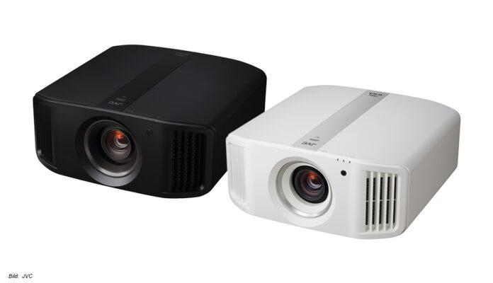 JVC: Der neue Beamer DLA-N5 mit 4K-Auflösung und HDR ist in Schwarz und Weiß erhältlich